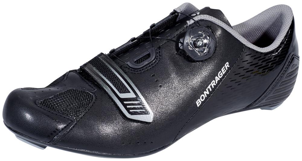 Chaussures Noires Bontrager Pour L'été Avec Des Hommes De Fermeture Velcro XagkO1p09D